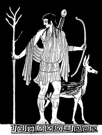 Artemis Greek Goddess Symbol Pinterest • The worl...