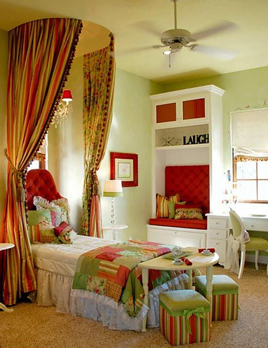 cute and colorful The Girls\u0027 Room Pinterest Nooks, Tween and Girls