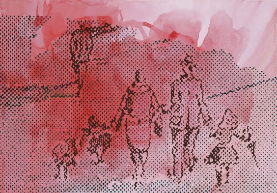 Зигмар Польке (1941 - 2010) крупнейший мастер немецкого постмодернизма, классик искусства XX в. Polke экспериментировал с широким спектром стилей, дисциплин и материалов. http://8-poster.ru/authors/Polke_Zigmar/ http://tanjand.livejournal.com/1325632.html