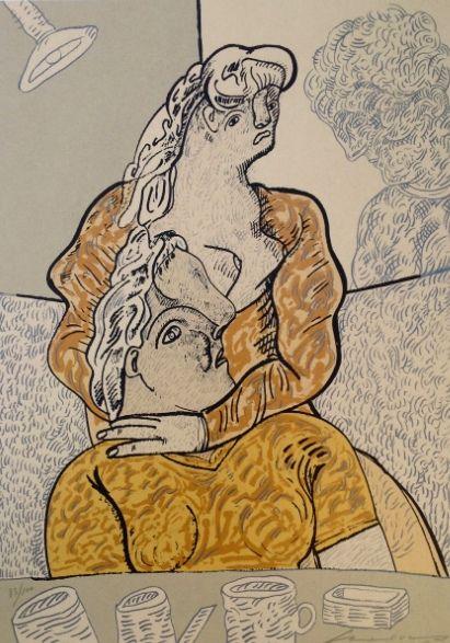 Jose Luis Cuevas – La pareja