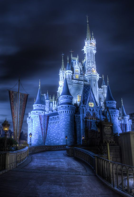 Disney World - Florida - have been several times but always love to go back.  It brings back honeymoon memories :)