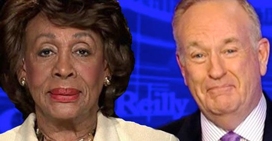 Bill O'Reilly Snickers While Apologizing For Mocking Maxine Waters' James  Brown Wig | Sandra Rose | Uncategorized Bullshit (WTF!