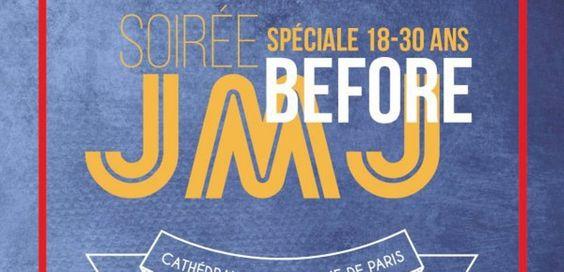"""Mercrdi 6 avril à 20h40 sur KTO Tous les jeunes sont invités à un """"before JMJ"""" le 6 avril, à Notre-Dame de Paris, avec le cardinal André Vingt-Trois, saint Jean-Paul II, sainte Faustine, et le bienheureux Père Popieluszko ! Hésitants ou survoltés, venez..."""