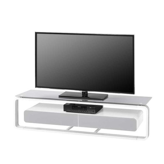 Tv Tisch In Weiss Glas Jetzt Bestellen Unter Moebel Ladendirek