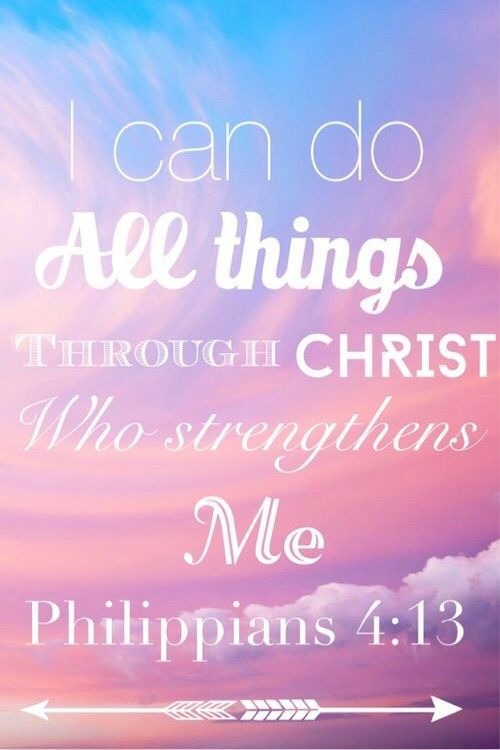 Scripture Quotes Encouraging I Can Do All This Through Christ Who