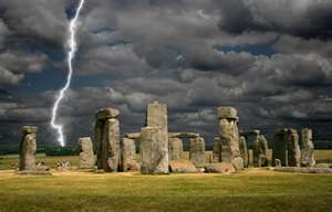 Stonehenge, located in the English county of Wiltshire