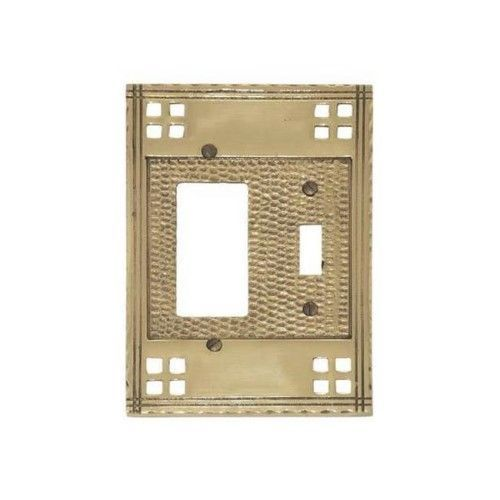 Brass Accents M05-S5671-613VB Double; 1-Switch-1-Gfci - Venetian Bronze, As Shown
