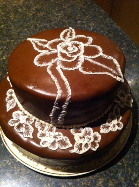 News paper cake