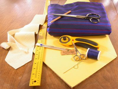 How to sew a necktie--make the guys ties out of the alterations fabric from the girls dresses?