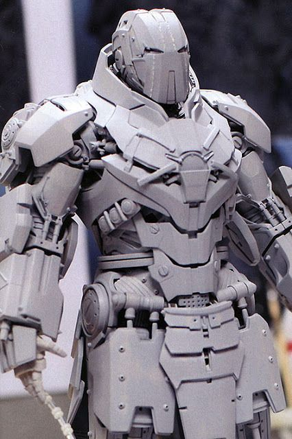 toyhaven: Hot Toys next 1/6 Whiplash Mark II will be die-cast. So will the Iron Man Mark XLII (Mark 42)