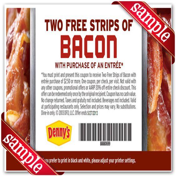 Dennys coupons 2018 november