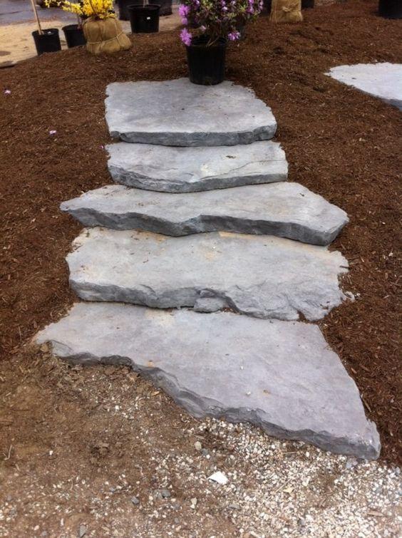 Irregular Bolduc Concrete Steps