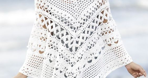 Free Pattern   Cantillo   Pinterest   Ponchos, Drops Design and Patterns