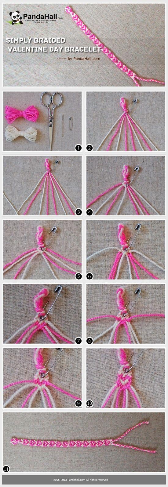 simply braided valentine day bracelet a heartfelt way to