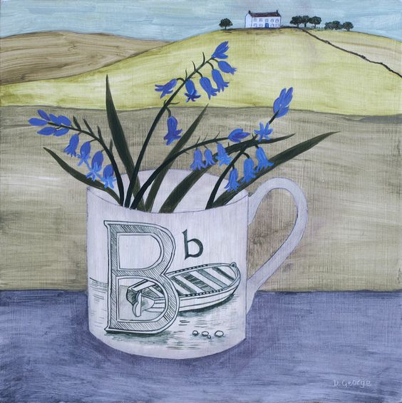 'B is for boat'  Debbie George www.debbiegeorge.co.uk