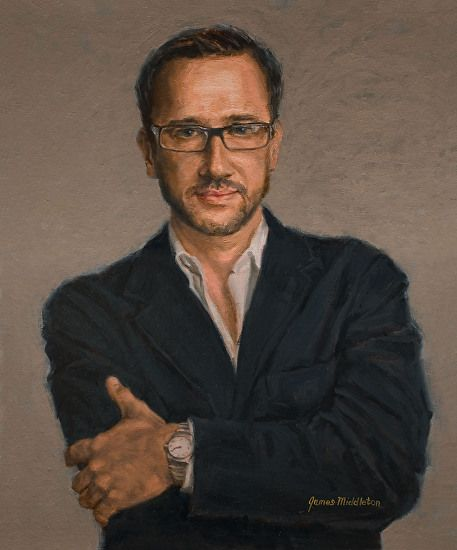 René by James Middleton was selected as FAV 15% in the November 2014 BoldBrush Painting Competition.