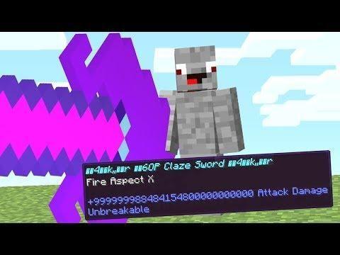 Mit Dieser Waffe Kannst Du Nicht Mehr Verlieren Minecraft Lucky Block Bedwars Minecraft Server Unbreakable