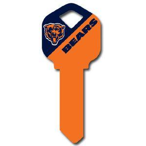 Kwikset NFL Key – Chicago Bears 1