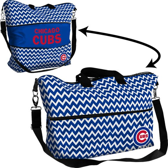 Chicago Cubs MLB Expandable Tote Bag