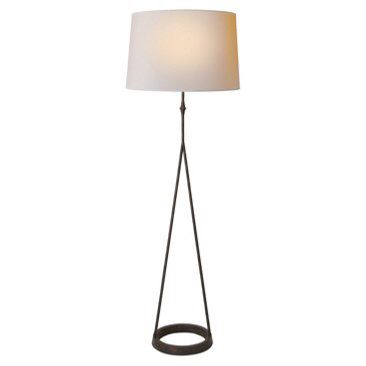 Check out this item at One Kings Lane! Dauphine Floor Lamp, Aged Iron