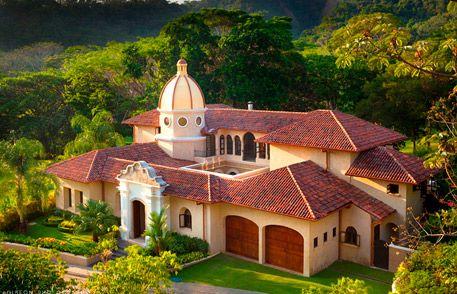 We spring break'ed it in Los Suenos Resort near Jaco, Costa Rica.  10 of us in this spectacular home.