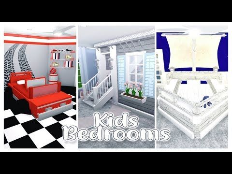 Bloxburg Themed Builds Kids Rooms Pt3 Youtube Cute Bedroom Ideas Baby Room Design Toddler Rooms