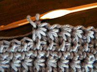Daisy crochet stitch tutorial.