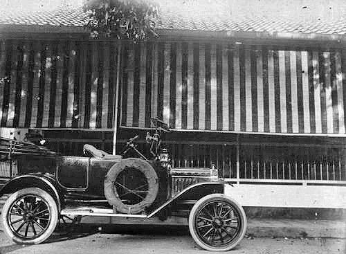 Ford Model T Van J H C Kuilaars Voor Het Javahotel Te Batavia