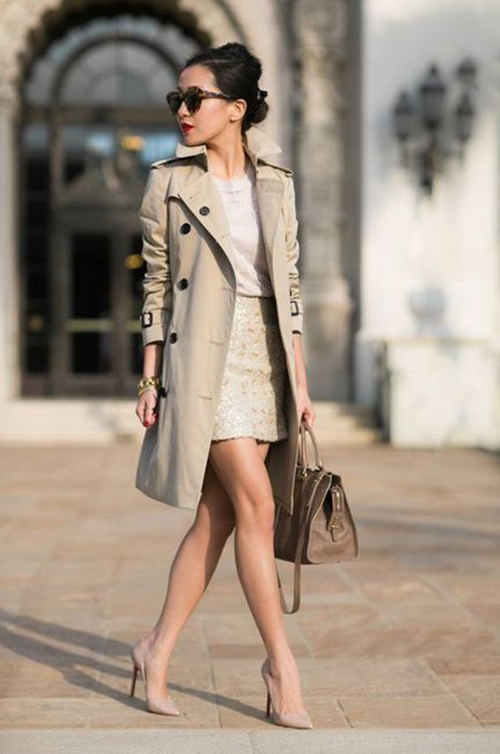 What Can You Wear With Trench Coats, Trendy Trench Coats 2019