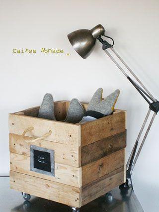 Nomad box #box #kids; va falloir y penser vite... celle-ci est particulièrement réussie, même sans la anse...