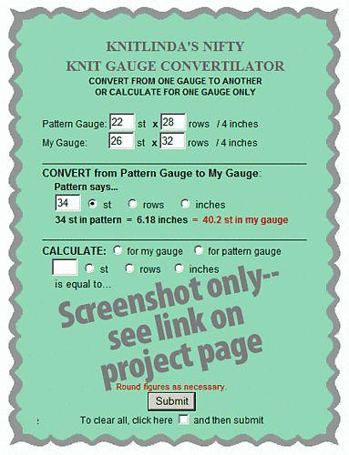 Knitting Gauge Calculator : Pinterest the world s catalog of ideas