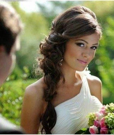 coiffure mariée tresse romantique: