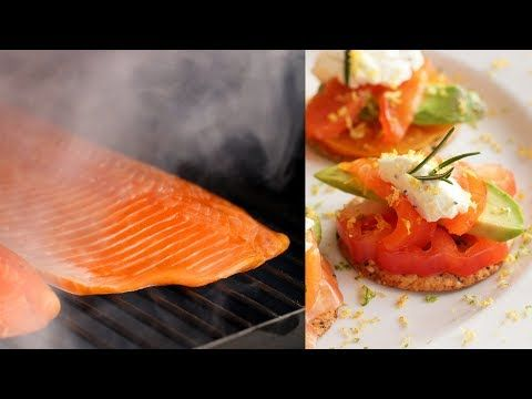 Our Bbq Expert Randy Shows You How To Cold Smoke Salmon On The Traeger Pro 34 Bbqguys Has A Large Smoked Salmon Recipes Smoked Food Recipes Bbq Recipes Grill