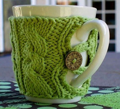 Toasty mug cover