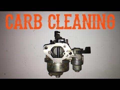 838 How Do I Clean A Honda Style Carburetor Youtube Carburetor Engine Repair Lawn Mower Repair