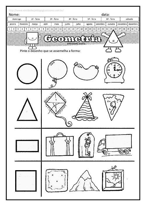 Geometria Matematica Formas Geometricas Com Imagens
