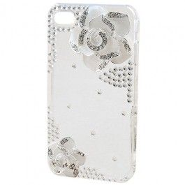 Don't you just adore the simple yet elegant style of this iPhone case? The beautiful camellia flower is perfect match with the shimmering crystals.. It can be snap on and off without hustle. It hugs your phone perfectly and gives it the maximum protection it greatly deserves. It can certainly safeguard your phone from dust, scratches and shock. It also gives you maximum access to the ports, controls and sensors of your iPhone.