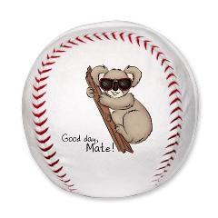 Koala Bear Plush Baseball
