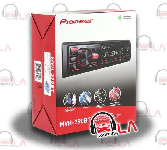 Sourcing-LA: PIONEER MVH-290BT MP3 IPHONE USB AUX IPOD EQUALIZE...