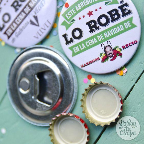 ¡El regalo más original! http://yosoytuchapa.com/home/87-al-ladron.html #navidad #chapas