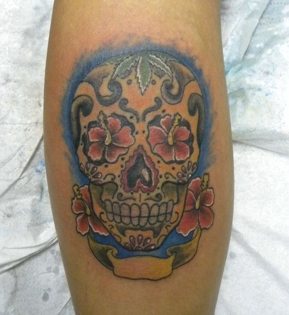 #teschio#messicano#tatuaggio