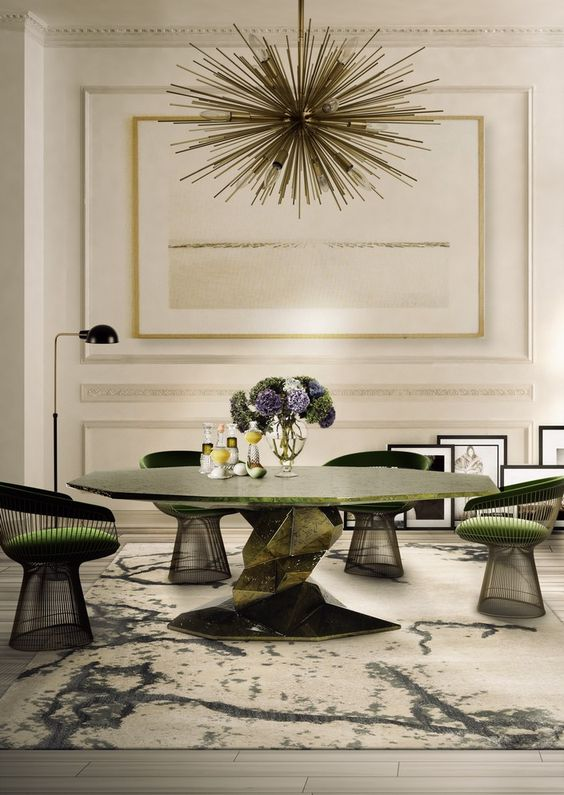 Dining Room Design Ideas: 50 Inspiration Dining Tables #interiordesign #diningroom See more at: http://homeinspirationideas.net/room-inspiration-ideas/dining-room-design-ideas-50-inspiration-dining-tables: