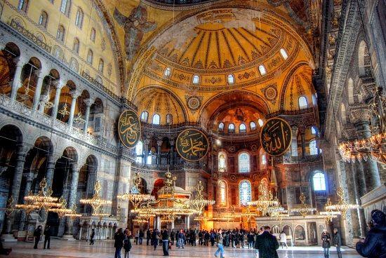The Glorious Hagia Sophia Of Istanbul