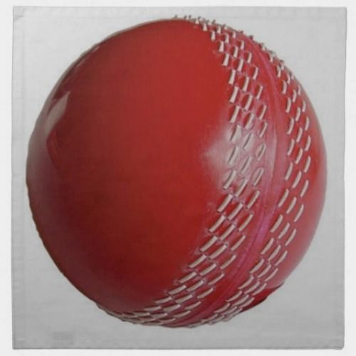 Cricket Ball Red Customize With Your Name Cloth Napkin Zazzle Com Cricket Balls Cloth Napkin Cricket Logo
