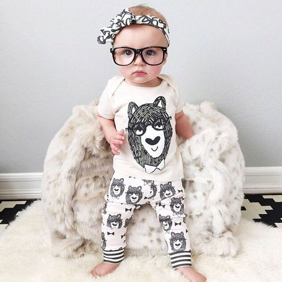 Trendy baby clothes, kids clothes sets, t-shirt+pants, suit infant clothing set, monster printed newborn, printed Tshirt.