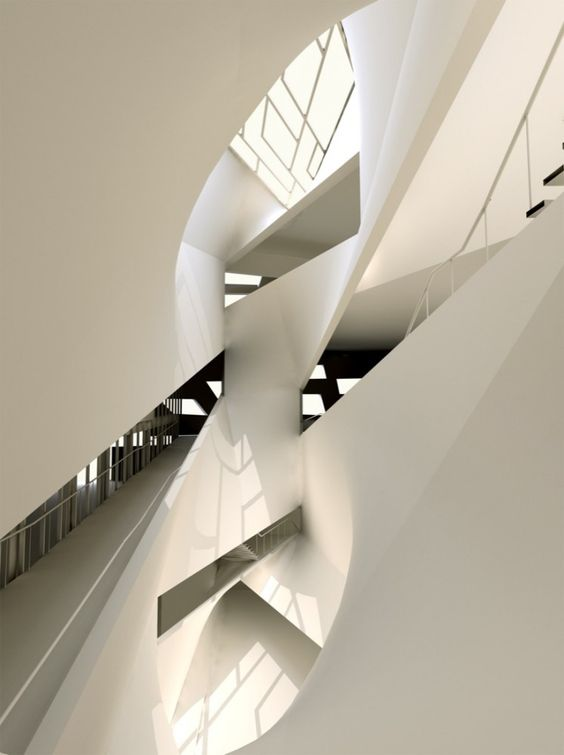 Aviv Museum of Art Amir Building |Preston Scott Cohen: