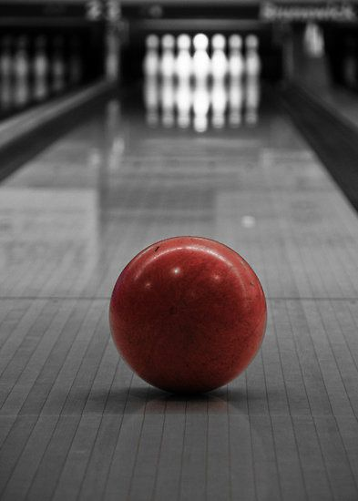 Focus by Edward Myers.  Bowling requires that you are conscious of your physical body.  That's what I love about it!