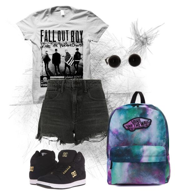 """""""Back to school"""" by magicalunicornfluff on Polyvore featuring Mode, Alexander Wang, DC Shoes und Vans"""