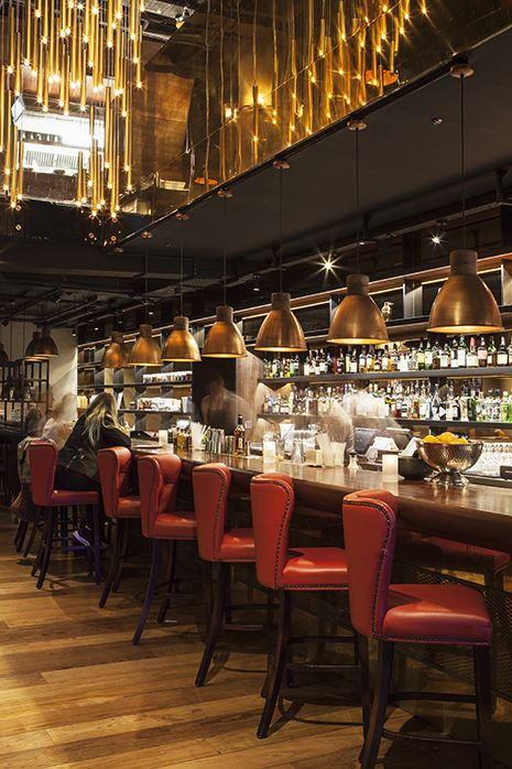 Burger Lobster At The W Hotel Leicester Square London Interior Design