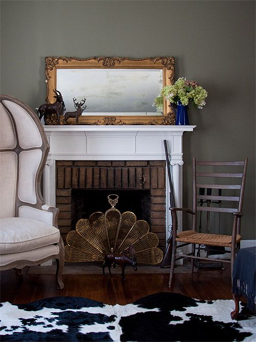 Hudson valley fireplaces and young couples on pinterest for Living room ideas young couples